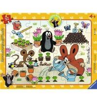 Ravensburger Spiel - Der kleine Maulwurf hat Spaß, 32 Teile