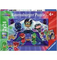 Ravensburger Spiel - PJ Masks retten den Tag, 24 Teile