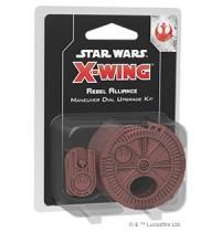 SW X-Wing 2.Ed. Rebel Allianc Star Wars® Rebel Alliance Maneuver Dial Upgrade Kit