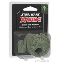 SW X-Wing 2.Ed. Scum Villainy Star Wars® Scum and Villainy Maneuver Dial Upgrade Kit