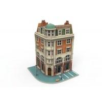 Märklin - Märklin Start up - 3D Gebäude-Puzzle Eckhaus mit Bank