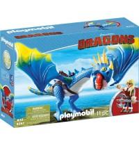 Playmobil® 9247 - Dragons - Astrid und Sturmpfeil