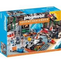 Playmobil® 9263 - Adventskalender Spy Team Werkstatt