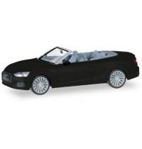 Herpa - Audi A5 Cabrio, mythosschwarz metallic