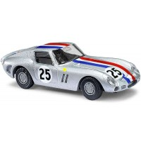 Busch Automodelle - Ferrari 250 GTO, Start-Nr. 25, Silbermetallic