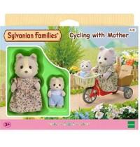 Sylvanian Families - Fahrradfahren mit Mutter