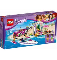 LEGO® Friends - 41316 Andreas Rennboot-Transporter