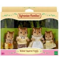 Sylvanian Families - Walnuss Eichhörnchen Familie Knacks