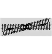 Märklin - H0 - K-Gleis Kreuzung 225 mm - Kreuzungswinkel 14°