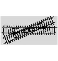Märklin - H0 - K-Gleis Kreuzung 168,9 mm - Kreuzungswinkel 22°