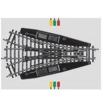 Märklin - H0 - K-Gleis Symmetrische Dreiwegweiche, Elektro