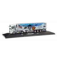 Herpa - MAN TGX XXL Kühlkoffer-Sattelzug Truck Store Niebel Sped. Meixner