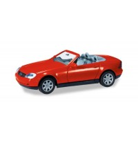 Herpa - Herpa MiniKit: MB SLK Roadster, rot
