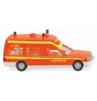 Wiking - Feuerwehr - Krankenwagen - MB Binz - tagesleuchtrot
