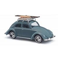 Busch Automodelle - VW Käfer Brezelfenster mit Dachgepäckträger