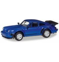 Herpa - Porsche 911 Turbo, blaumetallic