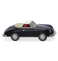 Wiking - Porsche 356 Cabrio - schwarz
