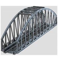 Märklin - H0 - Brücken - Bogenbrücke - Bogenhöhe 117 mm. Länge 360 mm.