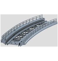 Märklin - H0 - Brücken - Gebogenes Rampenstück 360 mm