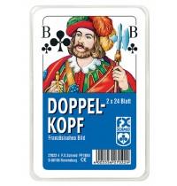 Ravensburger Spiel - Doppelkopf - Französisches Bild - Plastiketui