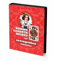 Ravensburger Spiel - Rommé, Canasta, Bridge - Mit extragroßen Eckzeichen