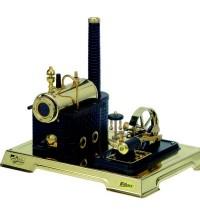 Wilesco D 106 - Dampfmaschine schwarz/messing