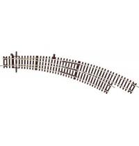 Roco - H0 - Roco Line 2,1 mm Bogenweiche R5/R6 rechts