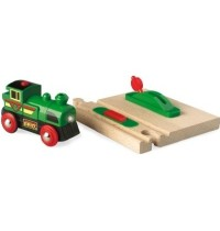 BRIO Bahn - Speedy Green Batterielok