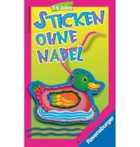 Ravensburger Spiel - Mitbringspiel Sticken ohne Nadel