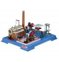Wilesco D 161 - Dampfmaschine mit Werkstatt