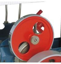 Wilesco D 405 - Dampftraktor, blau