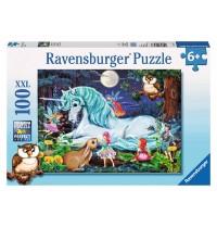 Ravensburger Puzzle - Im Zauberwald, 100 Teile