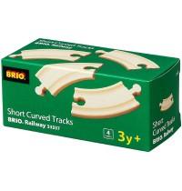 BRIO Bahn - Kurze gebogene Gleise