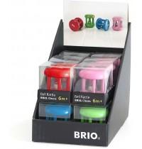 BRIO - Toddler Infant - Klingelrassel im Display, 12 Stck, farbig sortiert