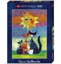 Heye - Standardpuzzle 1000 Teile - Wachtmeister Sun