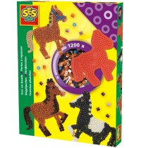SES Creative - Bügelperlenset Pferd