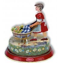 Wilesco Blechspielzeug - Waschfrau
