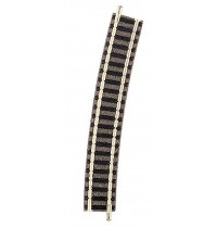 Fleischmann - Gebogenes Gleis Radius 3 - 396,4 mm 15° N piccolo
