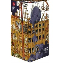 Heye - Dreieckspuzzle 2000 Teile - Loup Arche Noah