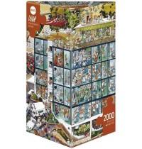 Heye - Dreieckspuzzle 2000 Teile - Loup Emergency Room
