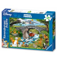 Ravensburger Puzzle - Die Familie der Animal Friends, 100 XXL-Teile