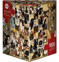 Heye - Dreieckspuzzle 1000 Teile - Degano Black or White