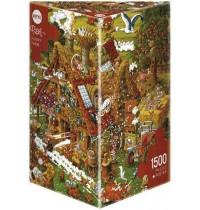 Heye - Dreieckspuzzle 1500 Teile - Ryba Funny Farm