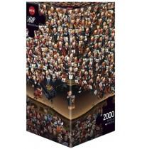 Heye - Dreieckspuzzle 2000 Teile - Loup Orchestra