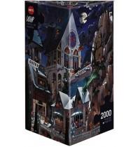 Heye - Dreieckspuzzle 2000 Teile - Loup Castle of Horror