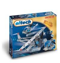 EITECH C74 Metallbaukasten mit Solarzelle und Motor