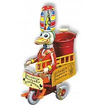 Wilesco Blechspielzeug - Feuerwehr - Ente