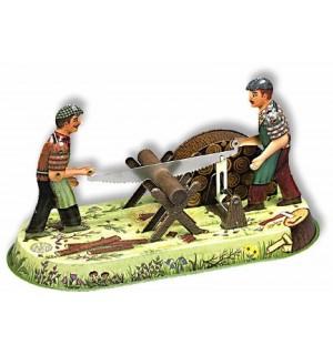 Wilesco Blechspielzeug - Waldarbeiter