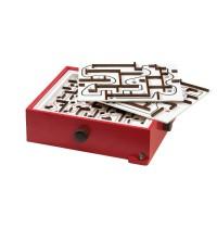 BRIO - Games - Labyrinth mit Übungsplatten, rot