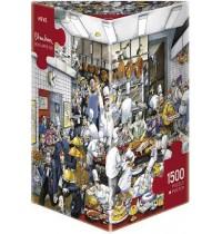 Heye - Dreieckspuzzle 1500 Teile - Blachon Bon appétit